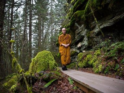 Buddhist Monastery Survives In Columbia River Gorge Through Community Support
