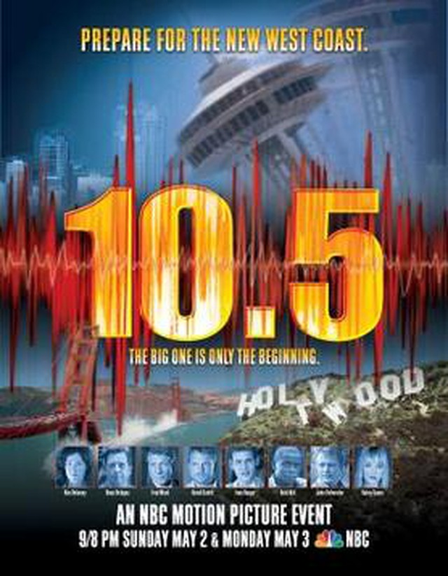 The earthquake disaster miniseries scored high ratings when it first aired in 2004.