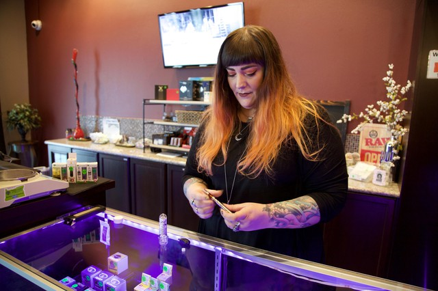 Monica Gayda said customers are moving to products that have few additives, like fresh frozen cartridges.