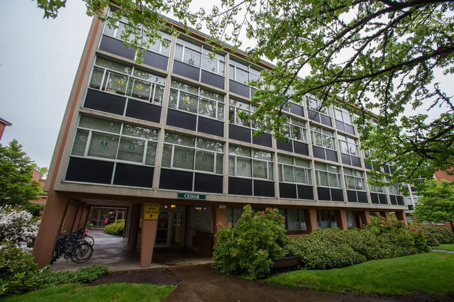 A University of Oregon naming committee soughta new name for Dunn Hall to President Michael Schill.