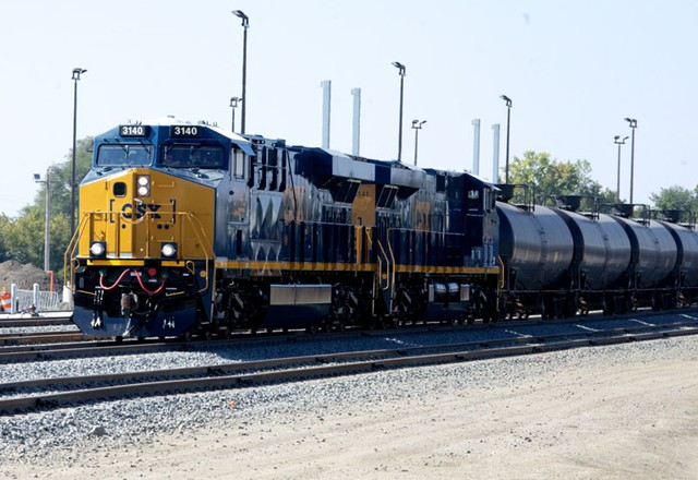 An oil train. Increased oil train traffic in the Northwest is prompting policymakers to consider whether their states have sufficient safety measures in place to deal with the risk of a crash or spill.
