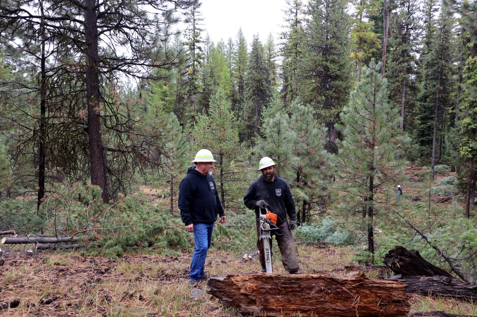 Logging is an important industry in Grant County, Oregon, even though just one timber mill remains in the county.