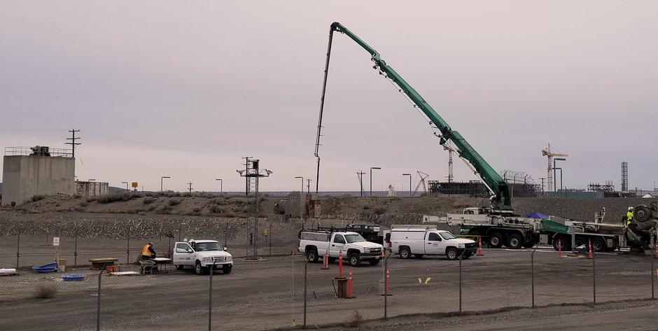 Work to seal a second Hanford tunnel with grout has wrapped up.