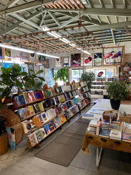 Marcus Books in Oakland is the oldest standing independent Black-owned book store in the country. It opened in 1960.