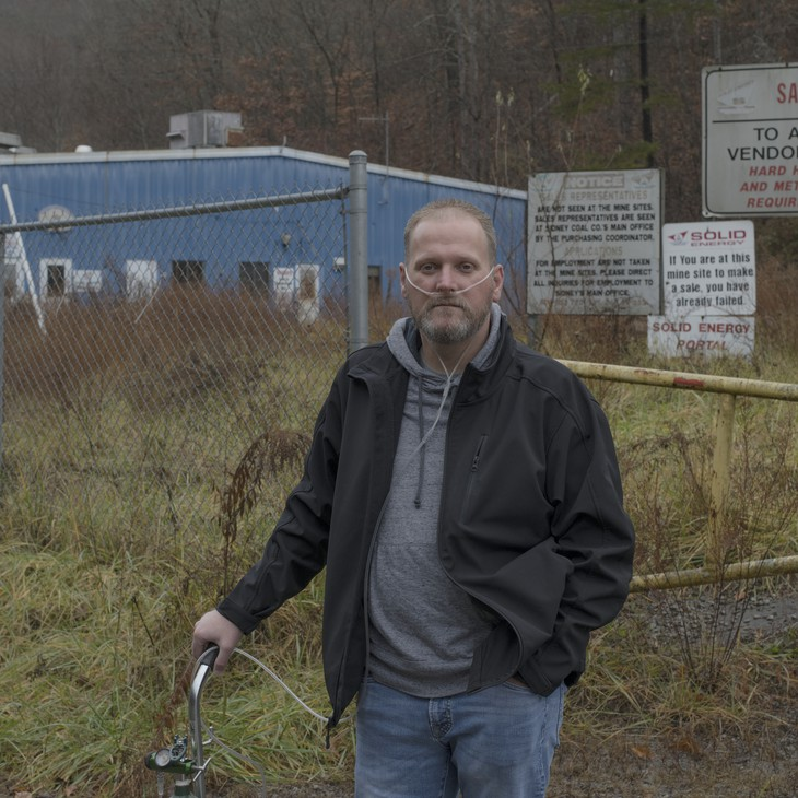 """""""There's a lot of memories here, some good, some bad,"""" says Smith, while reflecting on his years working at the now defunct Solid Energy mine in Pike County."""