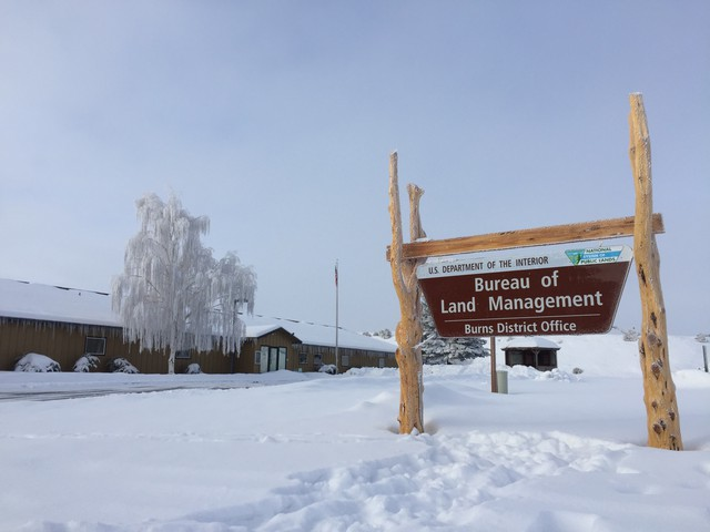 Federal offices in Harney County remained closed Monday due to the ongoing occupation that started on Jan. 2.