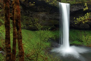 South Falls at Oregon's SilverFalls State Park is seen in the May 28, 2011, file photo. Oregon is offering free admission to all state parks on June 3 and 4, 2017, in celebration of State Parks Day.