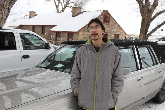 David Fry, a 27-year-old from Ohio, was one of the last remaining occupiers at the Malheur National Wildlife Refuge. He surrendered Feb. 11.