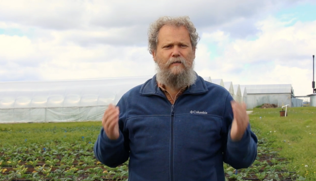 Azure Standard organic farm CEO David Stelzer in one of the videos the company produced in its campaign against efforts by Sherman County, Oregon, to force it to improve weed control efforts.