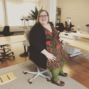 Rebecca Alexander is starting an app called AllGo to help plus-sized people rate businesses.