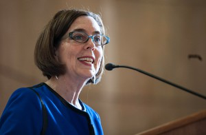 Oregon Gov. Kate Brown has endorse Ballot Measure 97, which would increase the state's corporate taxes by nearly $3 billion a year.