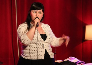 Bri Pruett is seen as a leader in Portland's standup comedian community.