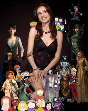 """In addition to voicing most of the female characters on """"South Park,"""" Eliza Jane Schneider has created characters for everything from the animated film """"Finding Nemo"""" to the TV series """"King of the Hill"""" to video games like """"Assassin's Creed."""""""