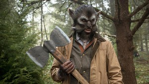 "This Thursday, ""Oregon Art Beat"" profiles the local artists behind the monster magic of ""Grimm,"" like this fox creature who likes to hunt rabbit creatures for their lucky feet..."