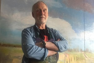 Decades of studio practice have given painter Stephen Hayes the mastery of his materials to reveal intimate, internal emotions.