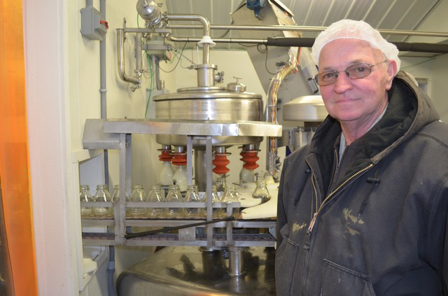 Larry Stap, an owner of the Twin Brook Creamery in northwest Washington, has signed onto the agreement to help keep cow manure out of Whatcom County's streams.
