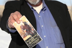 There's history behind the pocket Constitutions occupiers carried at the refuge.