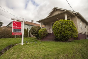 A home for sale in Northeast Portland's Sabin neighborhood.