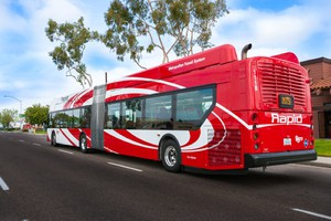 The City of San Diego runs its fleet of buses on compressed natural gas. It is the first customer for the biogas that a company called Novus Pacific plans to make out of onion and potato manufacturing waste in Boardman, Oregon.