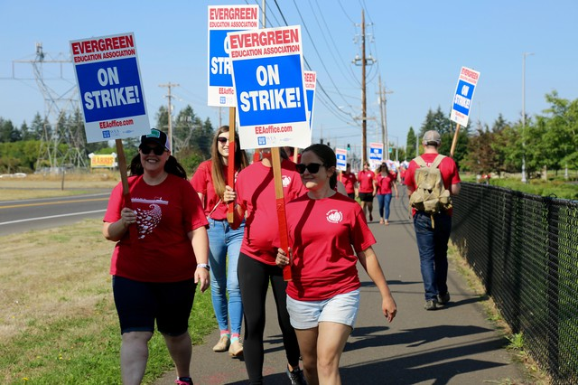 Teachers From 8 Sw Washington Districts Approve Deals To End Strikes