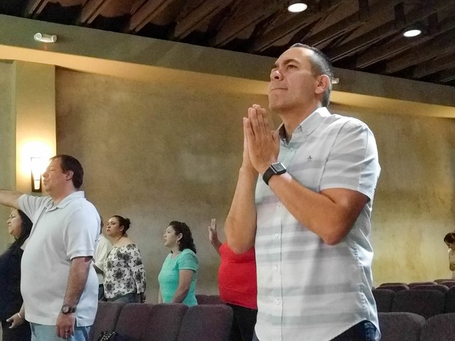 Alex Vaiz is the senior pastor at Vida Church, a evangelical church in Sacramento, California. The parishioners are mostly Latino and many are in the country without legal documentation.
