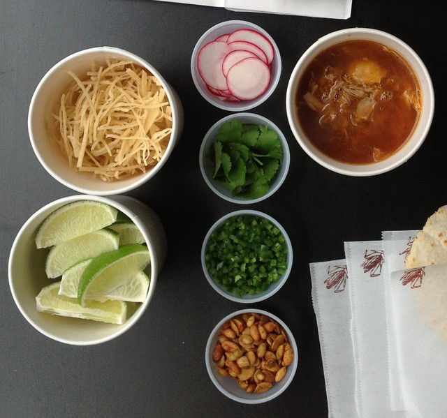 """""""Pozole was a staple dish of my family's Sunday suppers, a rare opportunity for us to all sit down and share a meal together,"""" said Chris Bailey, owner of Pozole to the People."""