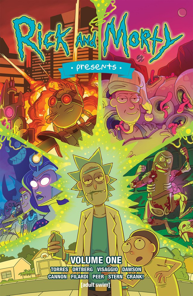 """Rick and Morty,"" based on the popular Cartoon Network Adult Swim series, is one of Oni Press' marquee titles."