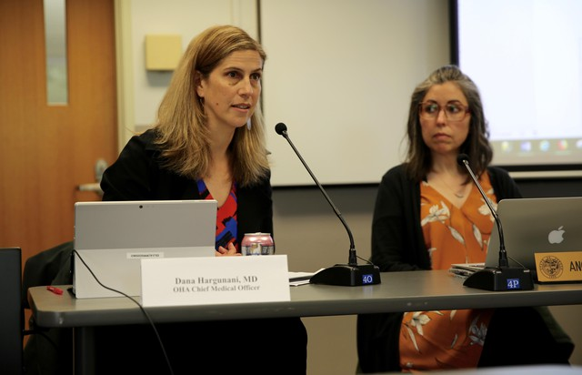 The chief medical officer of the Oregon Health Plan, Dr. Dana Harguanani, said Oregon changed its opioid tapering policy as a response to new research.