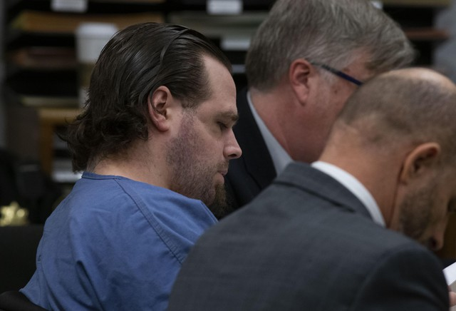 Jury selection began Tuesday, Jan. 21, 2020, for the trial of Jeremy Christian, accused of killing two men and slashing another in 2017 on a Portland, Ore., MAX train after they confronted Christian while he was shouting racist slurs at two teenage girls.