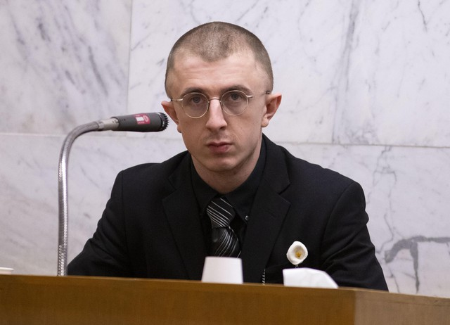Highly anticipated testimony from Micah Fletcher, who was seriously injured at the MAX stabbing incident, came on the morning of day six of the Jeremy Christian trial in Portland, February 4, 2020.
