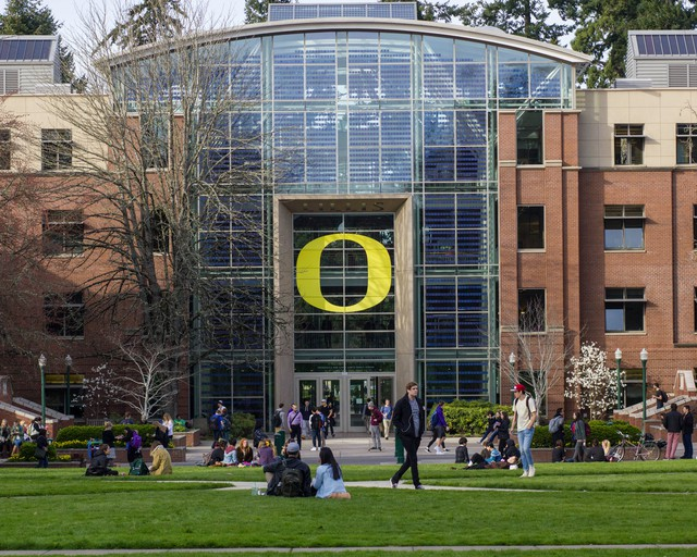 A state licensing board fined the head of the University of Oregon's counseling office.