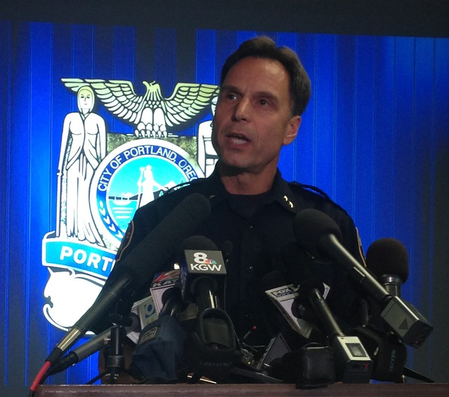Portland Police Chief Mike Reese announced he will retire in January 2015.