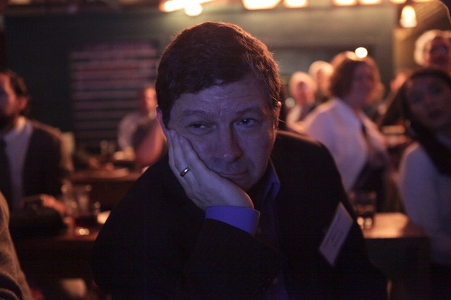 Steve Novick in NE Portland after he conceded to Chloe Eudaly for a seat on Portland's city council.