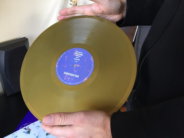 David Staley shows me the six-song Deliverance EP. The album is at the center of a legal challenge brought by Prince's estate.
