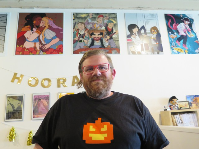 James Lucas Jones, the publisher of Oni Press, says the no. 1 way readers find their book format comics is through libraries, with comic books and book stores close behind.