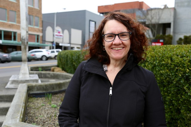 Linda Garcia lives in the Fruit Valley neighborhood, which includes the Port of Vancouver.