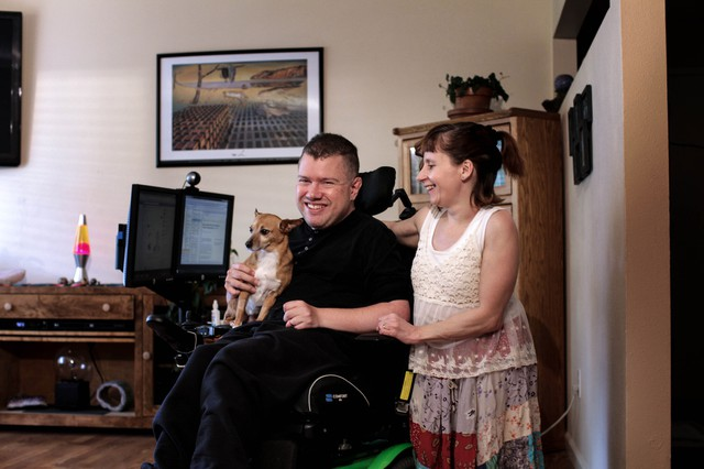 """The car service Uberprovides some form of wheelchair-accessible service in several cities, including San Francisco, Chicago and New York, but Portland was the first place where the company agreed to launch its wheelchair option, which it calls the WAV view, from the start. """"I'm dying to drive for Uber. I would do it all day, every day, this summer,"""" said Pam VanderVeer. """"We have the best wheelchair van you could ask for."""""""