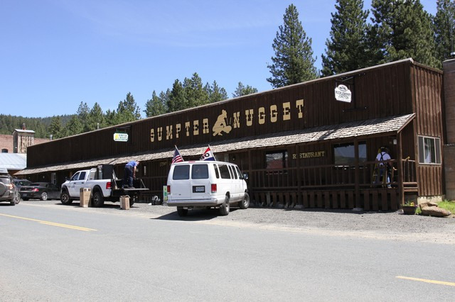 The Sumpter Nugget is one of two marijuana dispensaries now unexpectedly located in the tiny eastern Oregon town.