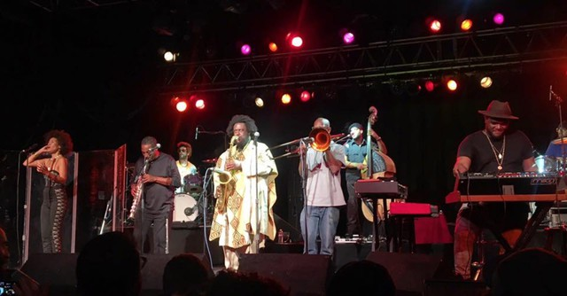 Kamasi Washington introduced the crowd at the Roseland Theater to a very unique show, derived from the wild yard of Los Angeles.