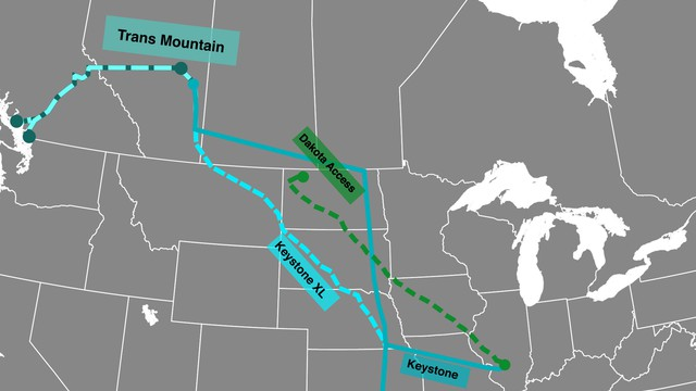 An expanded Trans Mountain oil pipeline could carry 890,000 barrels of crude a day, more than the controversial Keystone XL and Dakota Access pipelines.