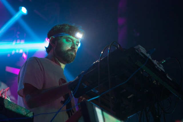 Animal Collective band member Geologist performs.