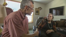 Lynn Williams stays in regular touch with his teacher and mentor, Joan Bolsinger. He makes a point of visiting her each time he returns home to visit his hometown of Roseburg.