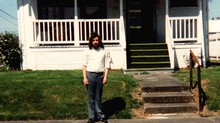 James Chasse, outside a group home in Portland