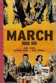 March (Book One) cover.
