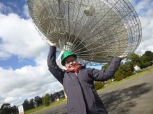 Swinburne University PhD student Emily Petroff was attributed with recording the first fast radio burst in real time.