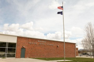 Madras High School improved its graduation rate by more than twenty points in the last few years, to 78 percent - just above the Oregon average.