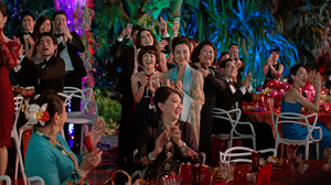 "A scene from the hit film, ""Crazy Rich Asians""."