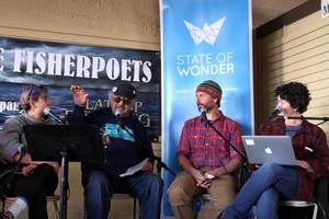 Astoria'sannual FisherPoets Gathering bringsmembers of the commercial fishing industrytogether to celebratethe longstandingliterary traditions of the high seas.