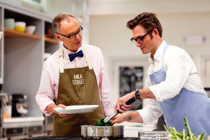 Christopher Kimball and Matthew Card of Christopher Kimball's Milk Street