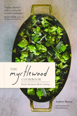 "An earlier edition of ""The Myrtlewood Cookbook"" — Kickstarter-funded and self-published — grew out of this Portland cooking team's pop-up dining project; the expanded version offers 100 recipes redolent of Pacific Northwest flavors."